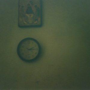 4_Interno con icona e orologio, Convento di Santa Chiara, Urbania (PU)_2020